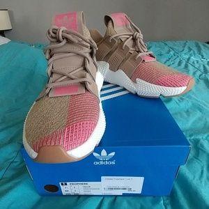 Adidas Propheres Trace Khaki & Chalk Pink